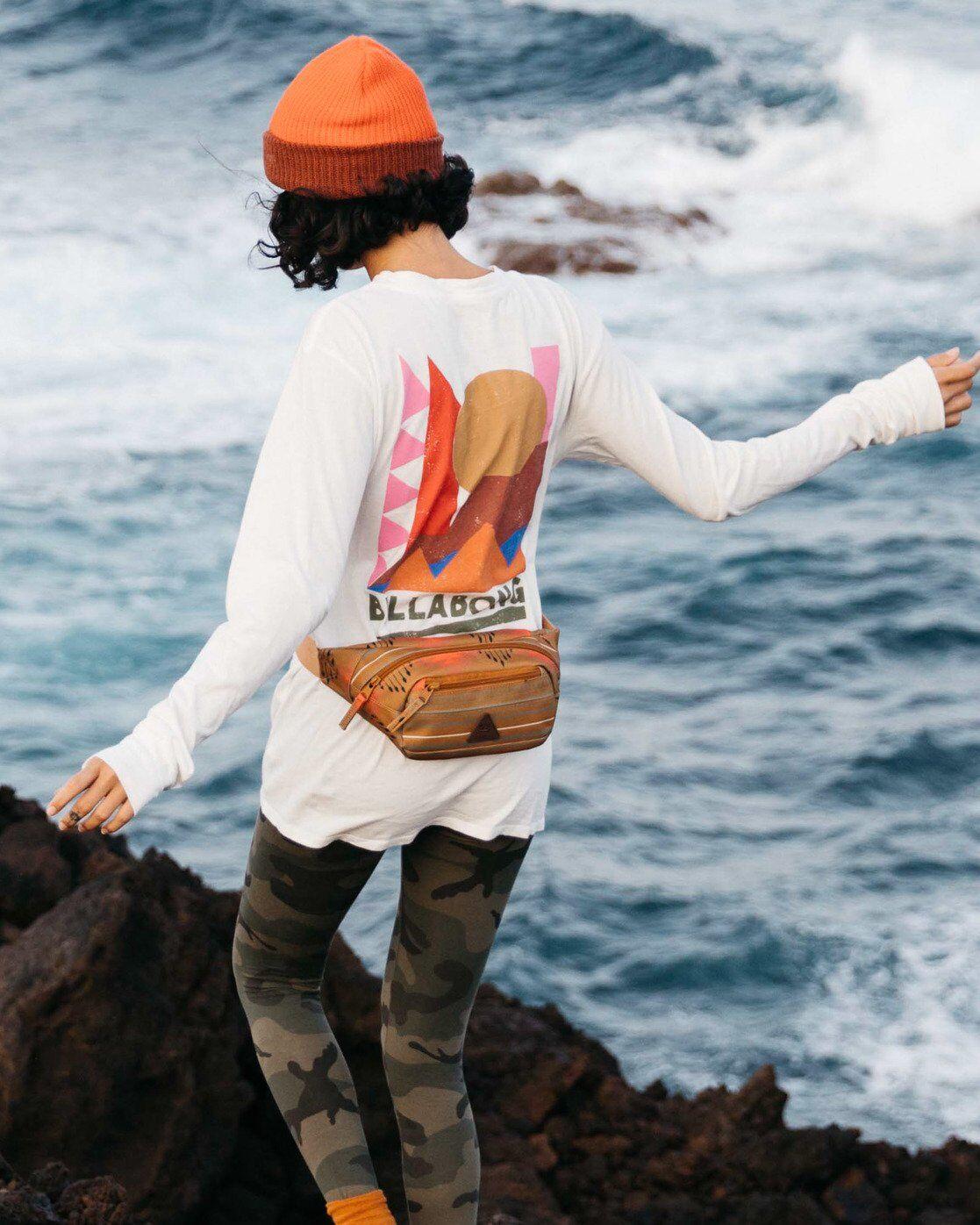 Billabong A/DIV Great Outdoors T-Shirt  - White - Size: Medium