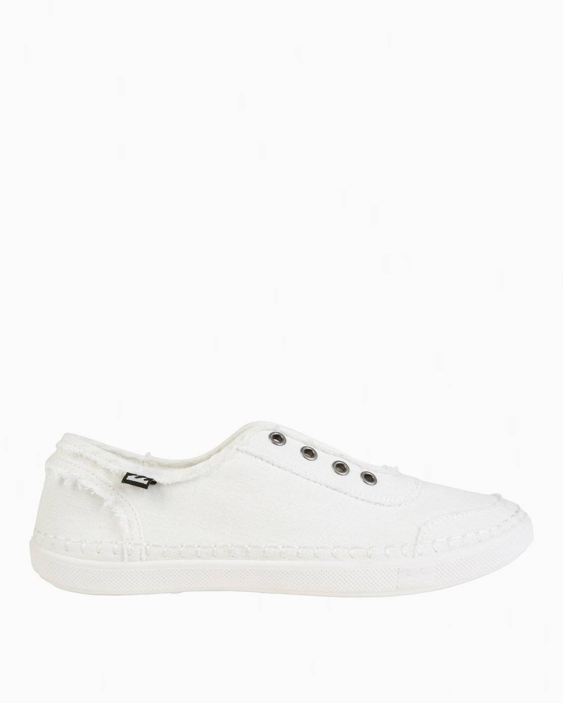 Billabong Cruiser Slip-On Shoes  - White - Size: 7.5