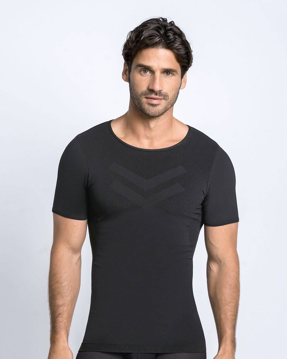 Leo Seamless Compression Shirt with Technology for Total Comfort - T-Sport