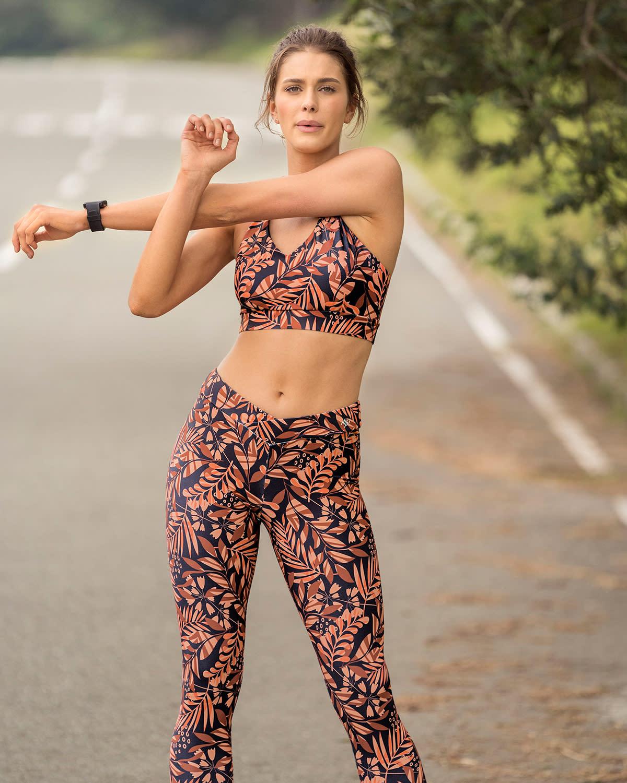 Leonisa Eco-Friendly Recycled Strappy Back Sports Bra