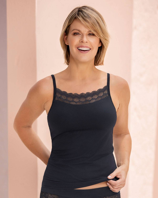 Leonisa Pocketed Bra Top Camisole - Post-Mastectomy