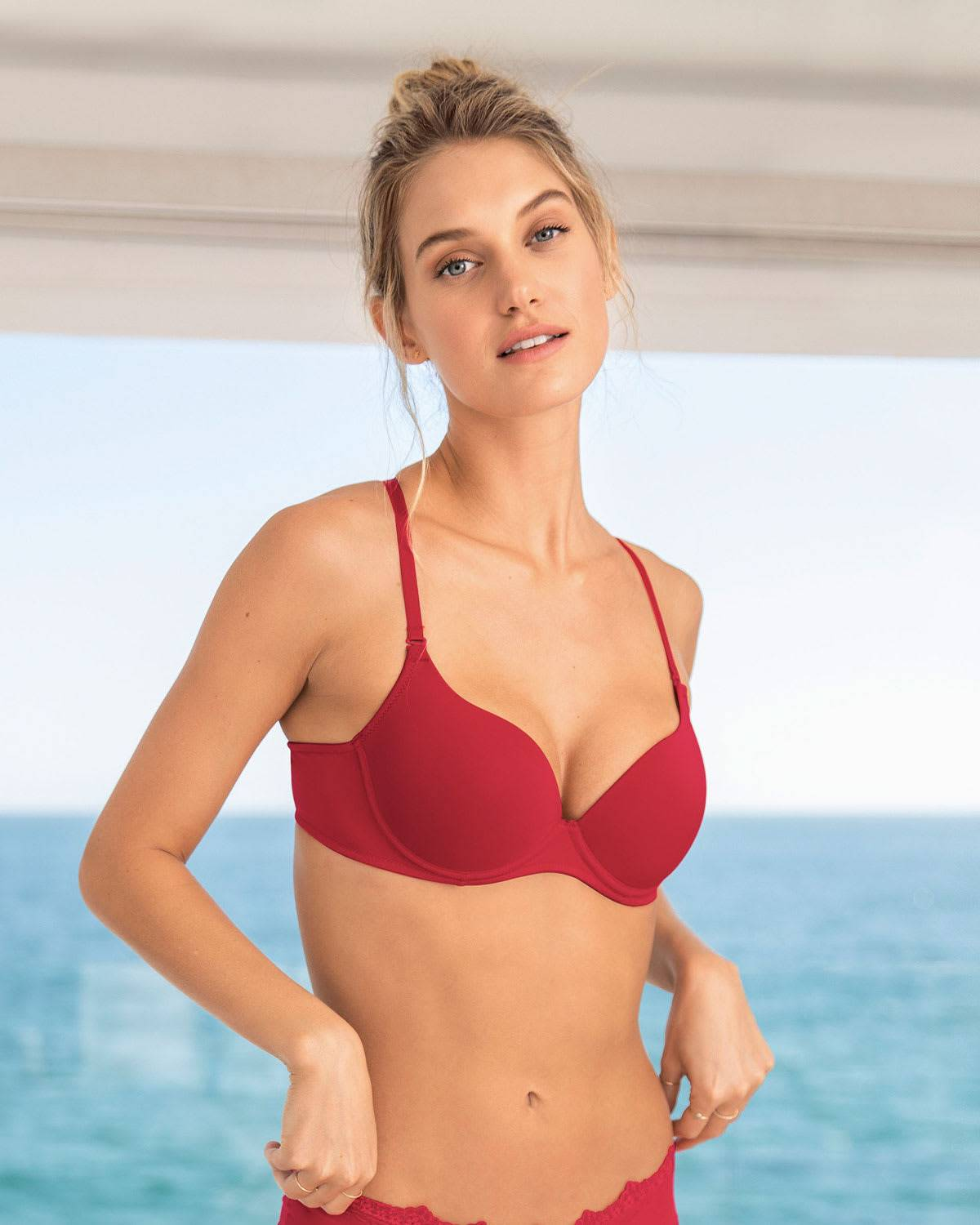 Leonisa Push Up Bra with Multiway Straps