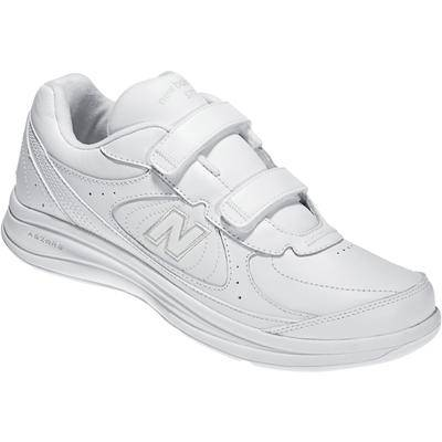 New Balance Extra Wide Width Men's 577 Velcro Walking Shoes by New Balance in White (11 XXW)