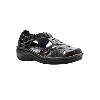 Propet Plus Size Women's Jenna Mary Jane Shoes by Propet in Black (Size 8 W)