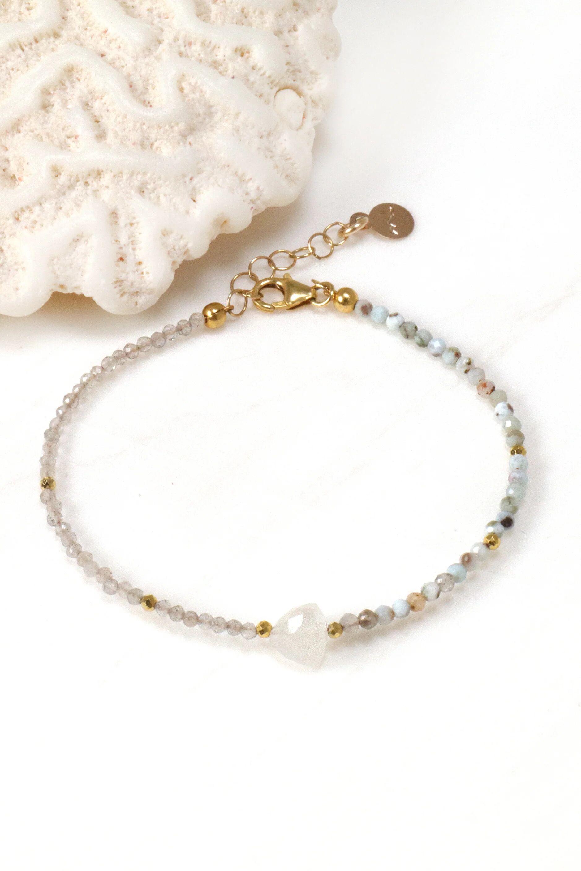 Mickey Lynn Jewelry Moonstone Arrow Bracelet