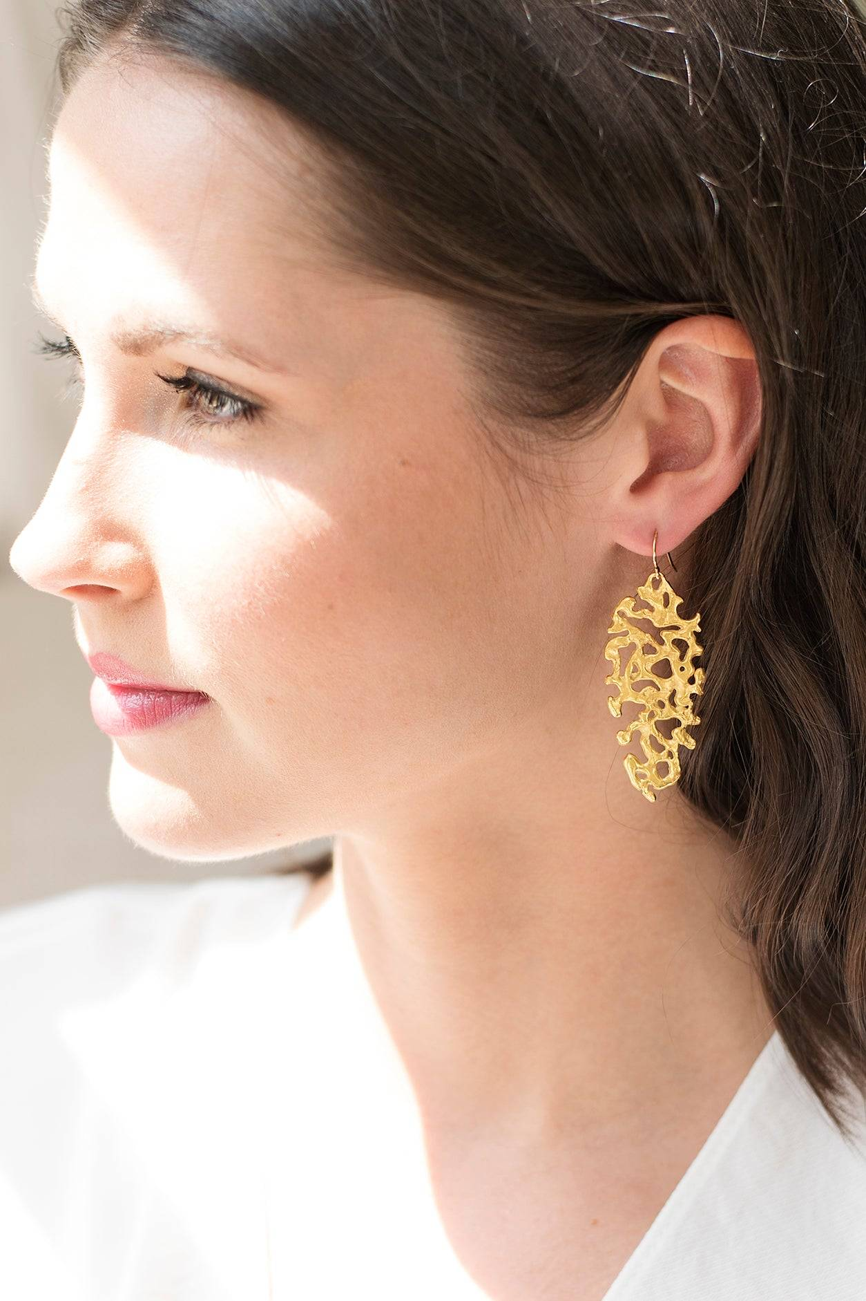 Mickey Lynn Jewelry Liquid Gold Earrings