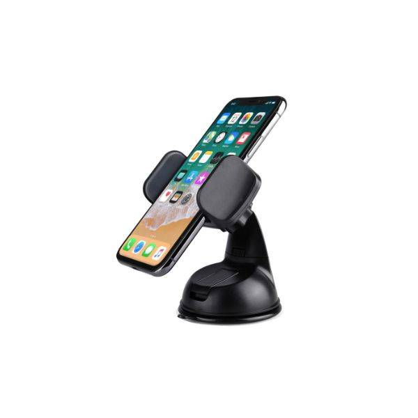 LAX Phone Holder Car Mount with Suction Cup for Dashboard and Windshield - 2 Pack