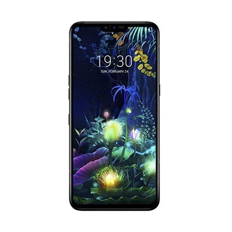 LG V50 ThinQ 5G 128GB GSM Unlocked 6GB RAM Phone - Aurora Black