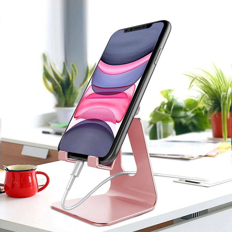 Generic Universal Adjustable Aluminum Phone & Tablet Stand - 1 or 2 Pack
