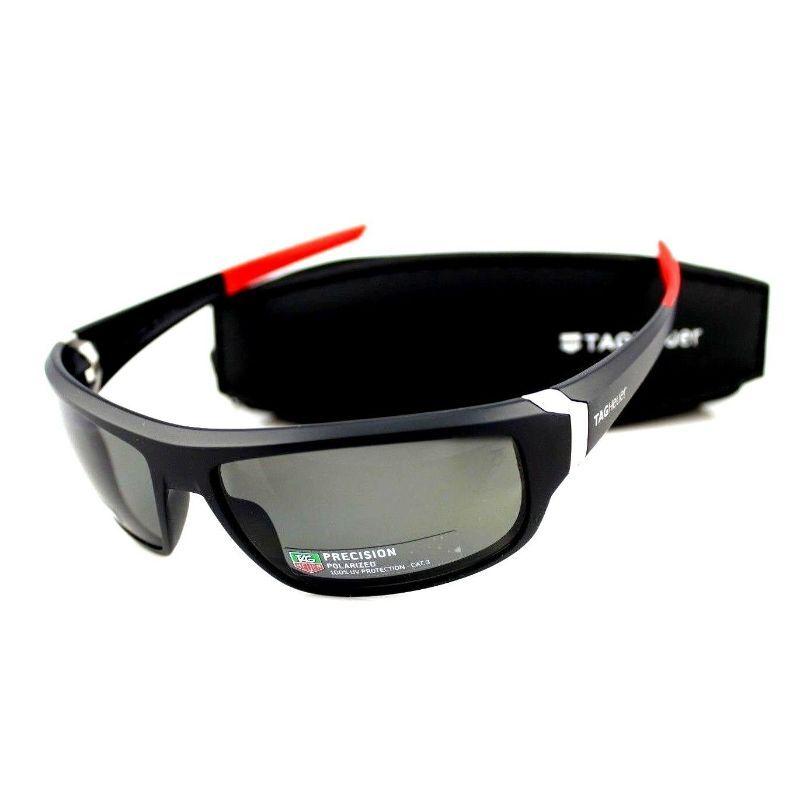 TAG Heuer Men's Racer 2 9221 Sport Wrap Around 64mm Polarized Sunglasses