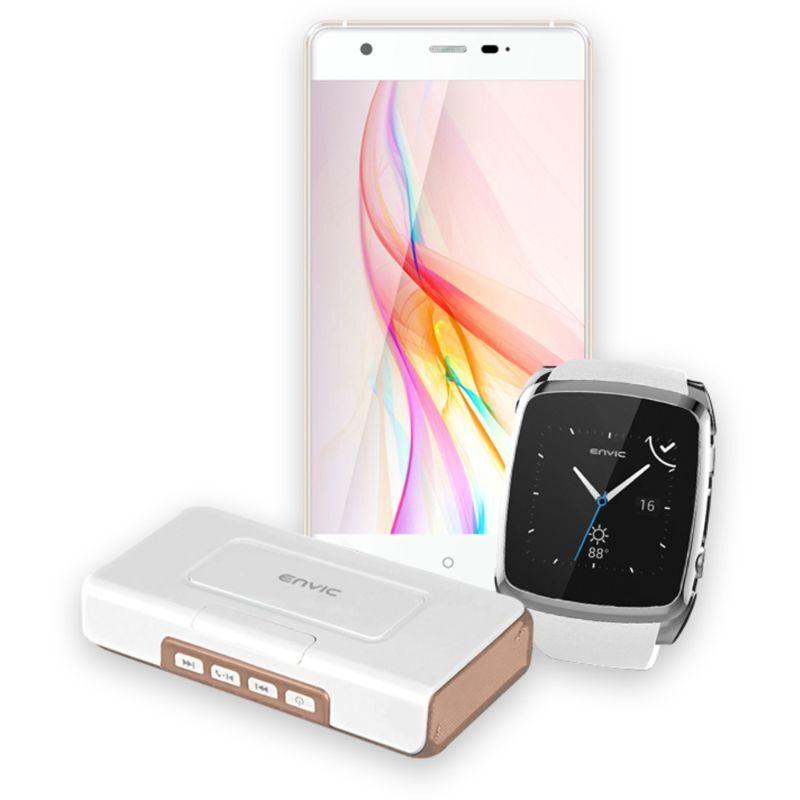 Envic Unlocked Android Phone & Smartwatch Bundle