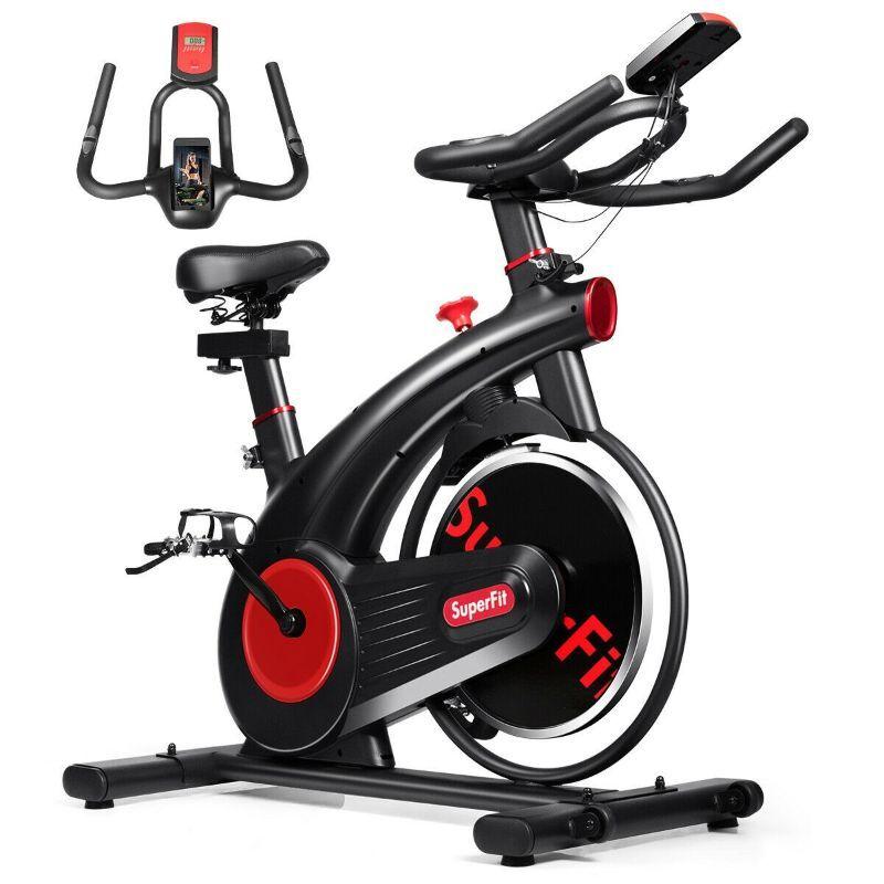 Generic SuperFit Stationary Silent Belt Exercise Bike