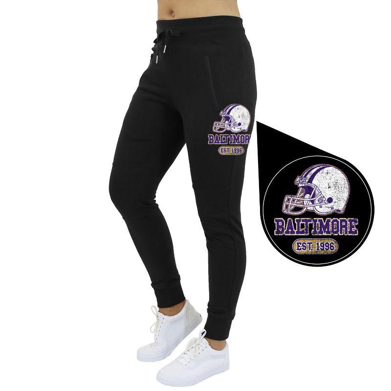 Cotton Thugs Women's Home Team Football Jogger Sweatpants
