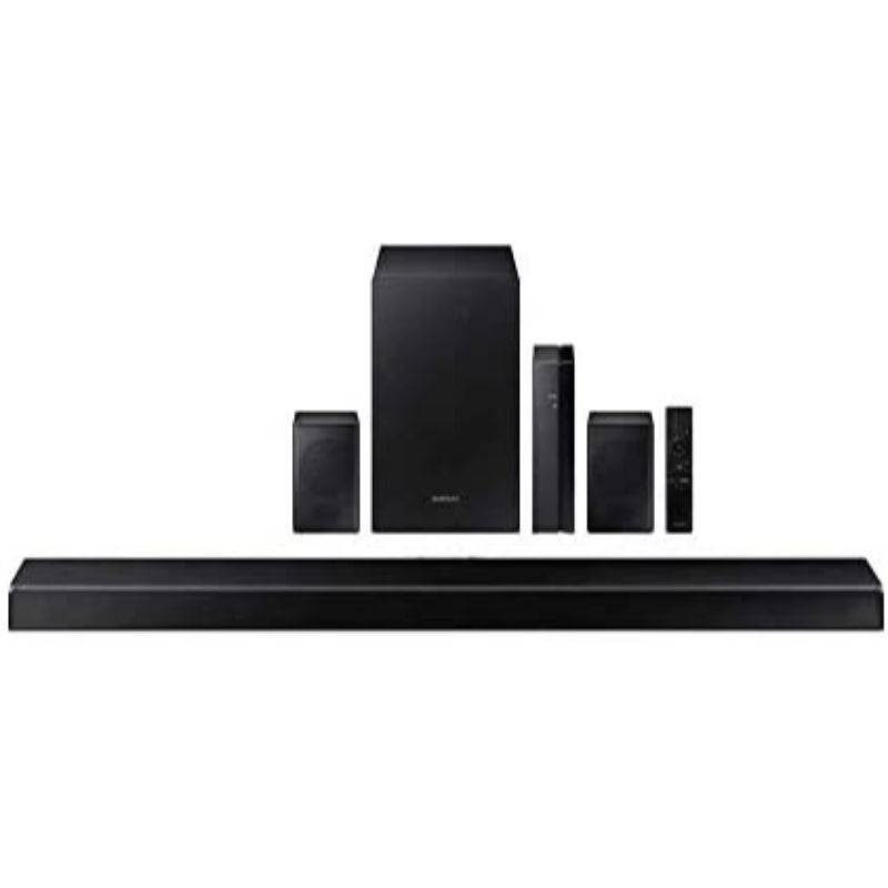 """Samsung 38.6"""" 7.1 Channel Home Theater Sound System with Wireless Subwoofer and Rear Speakers"""