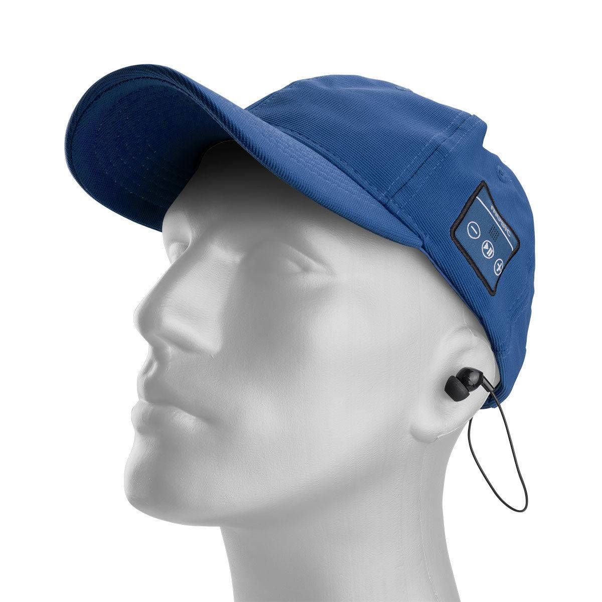 Voltix Bluetooth GrooveCap with Wireless Earbuds - Listen to Music and Answer Calls