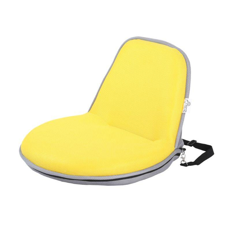 Loungie Quickchair Indoor/Outdoor Portable Foldable Mesh Floor Chair
