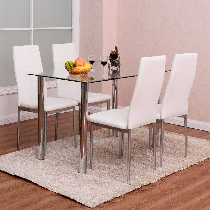 Generic Dining Chair and Table Set - 5 Piece