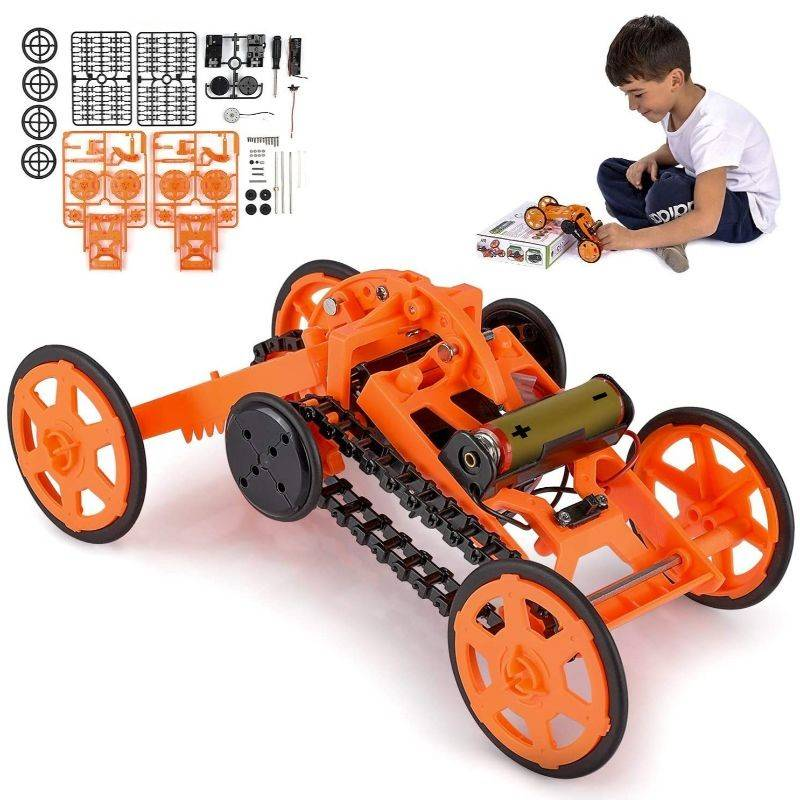 Generic Engineering Stem DIY Car Assembly Gift Toy for Kids & Adults