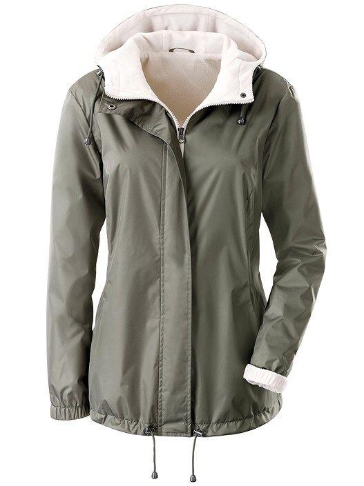 creation L Fleece Lined Outdoor Jacket  - Black - Size: 18