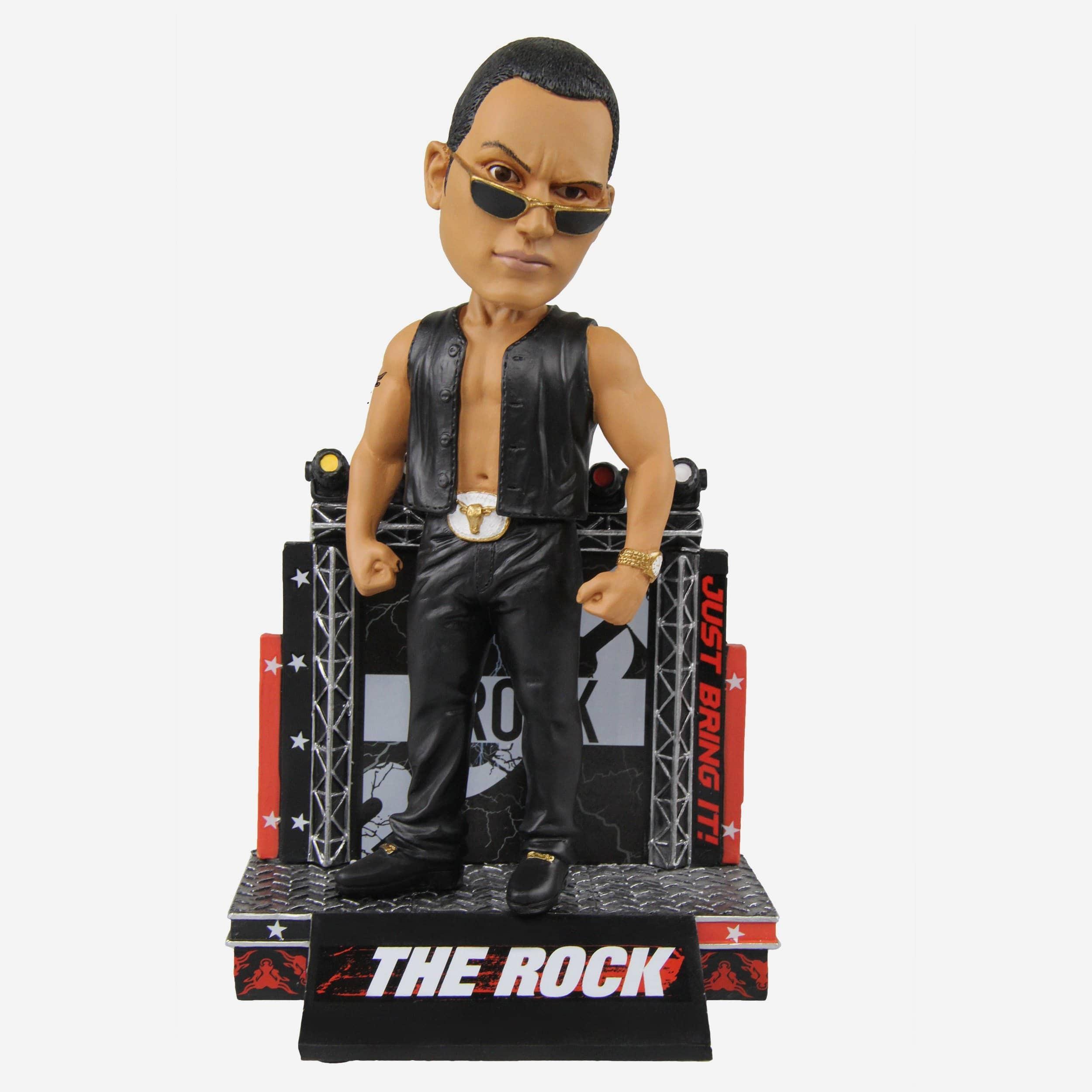FOCO The Rock Attitude WWE Bobblehead