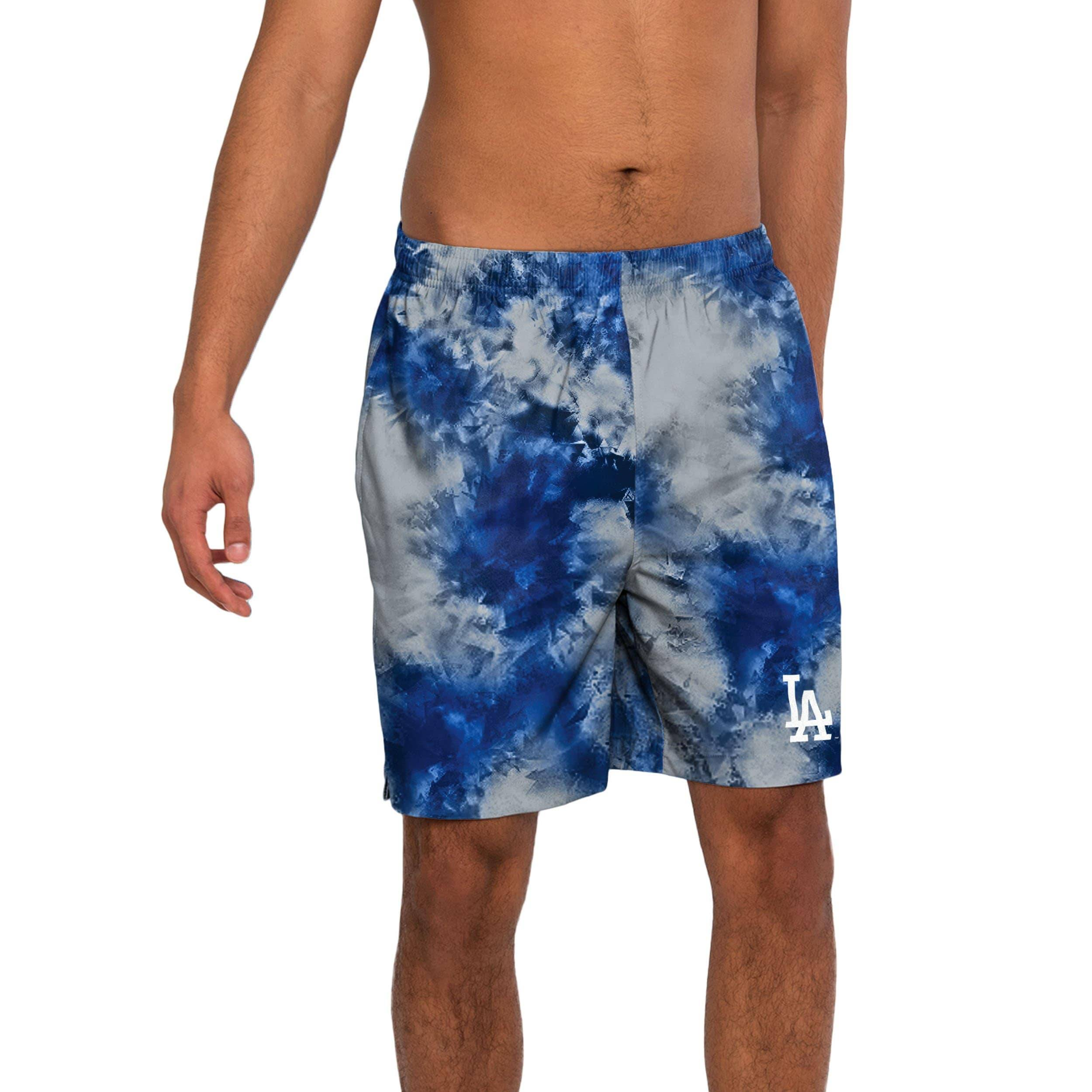 FOCO Los Angeles Dodgers To Tie-Dye For Swimming Trunks - M