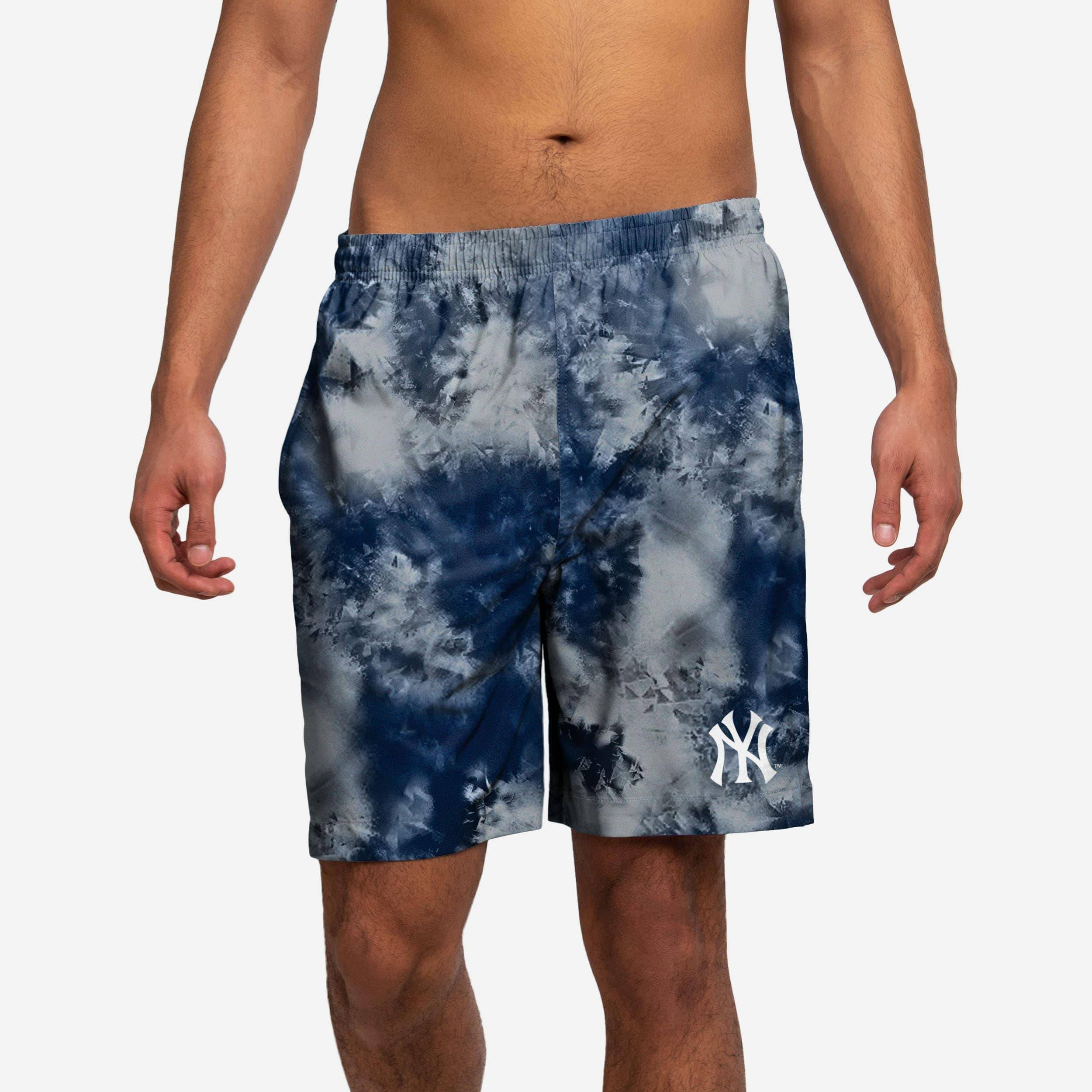 FOCO New York Yankees To Tie-Dye For Swimming Trunks - S