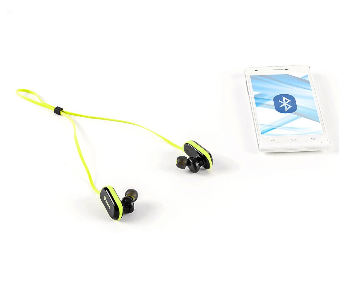 NGS Wireless BT Sport Headphones, Artica Ranger Edition - Yellow