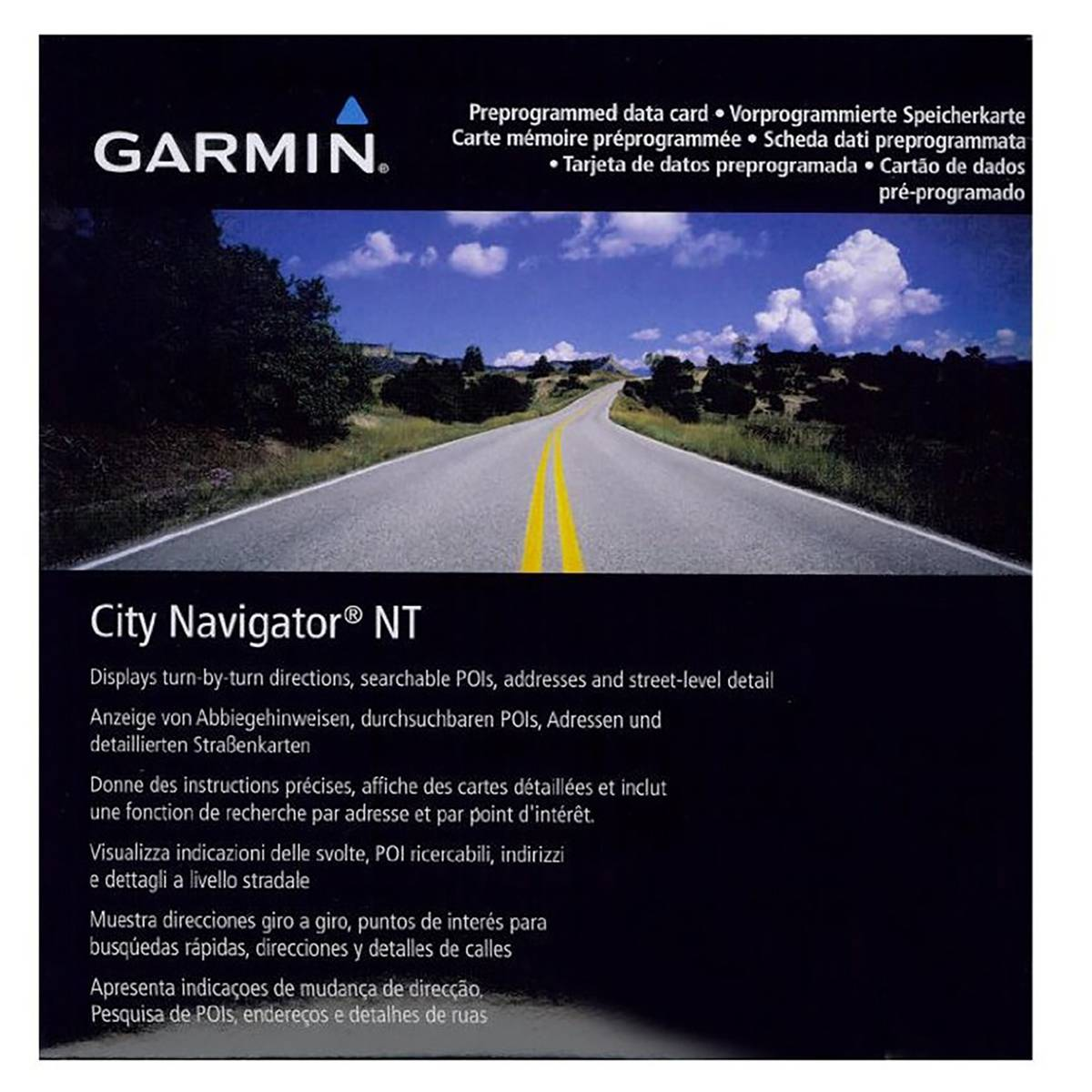 Garmin Map City Navigator Egypt NT (SD/microSD)