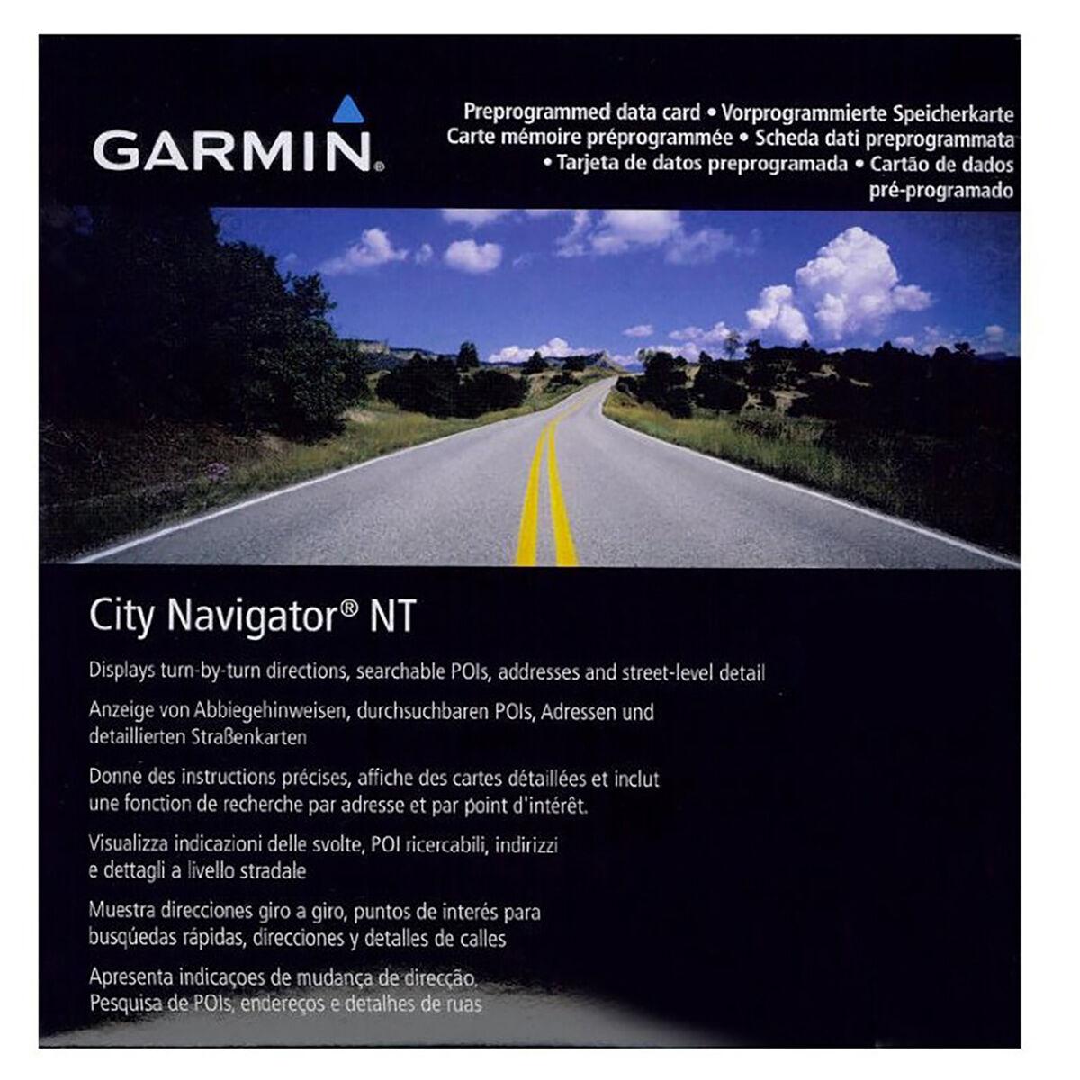 Garmin Map Northwest Eastern Europe (SD/microSD card)