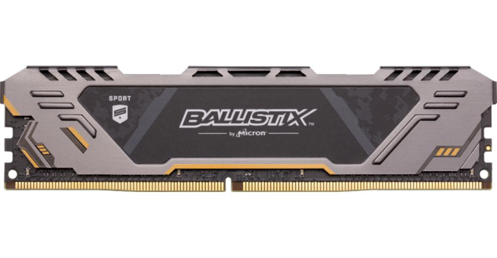 Crucial 8GB Crucial Ballistix Sport PC4-24000 3000MHz CL17 DDR4 Memory Module