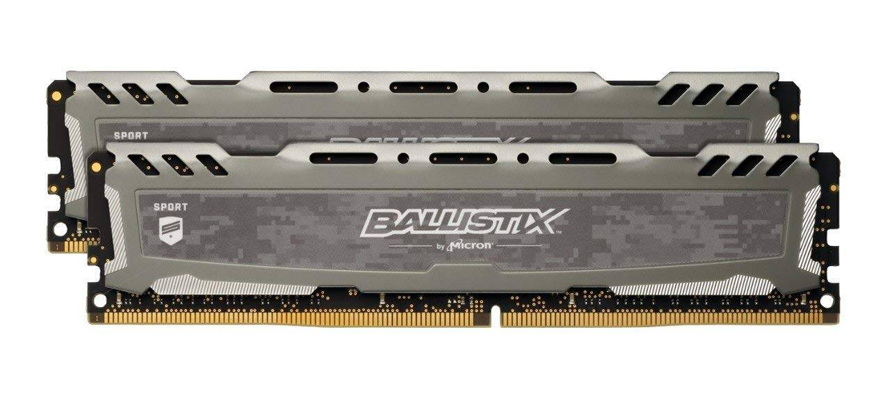 Crucial 32GB Crucial BLS2K16G4D30AESC Ballistix Sport LT 3000MHz DDR4 Dual Memory Kit (2 x 16GB)