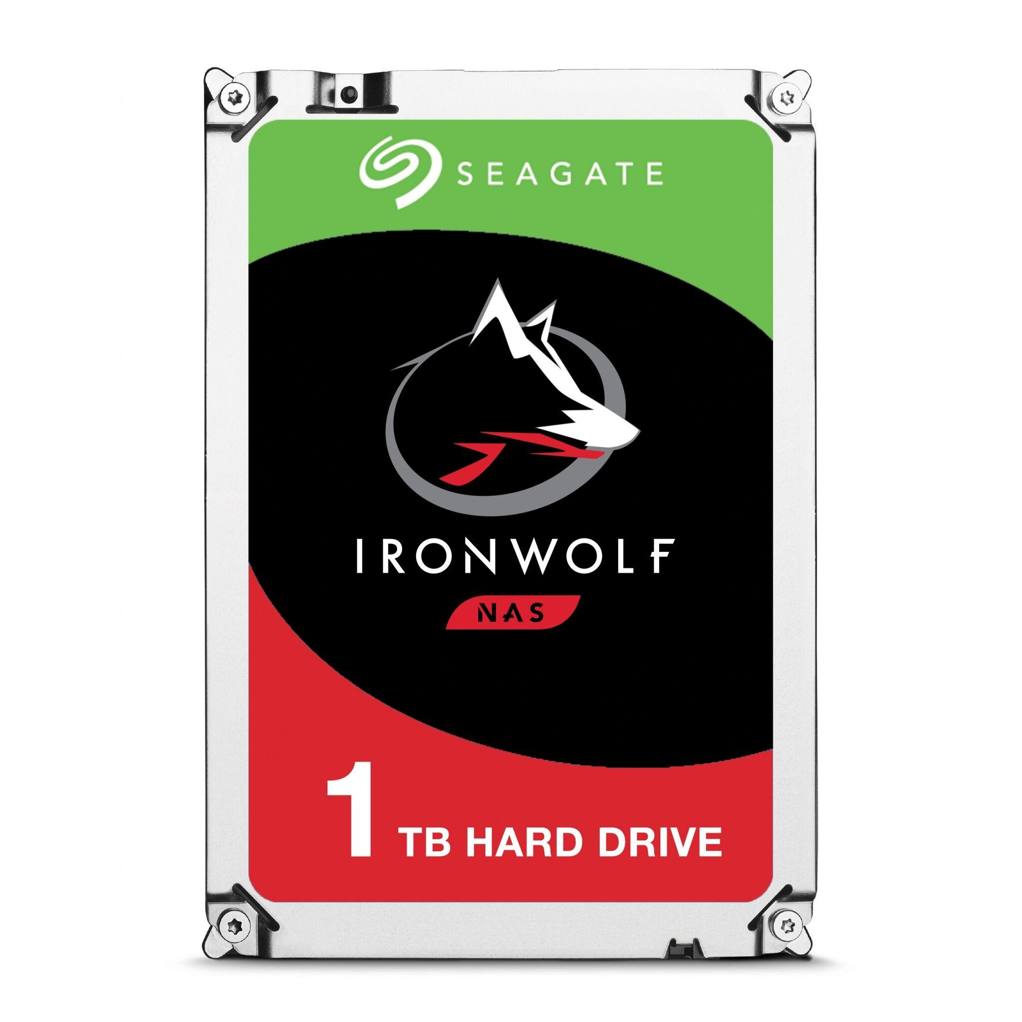 Seagate 1TB Seagate IronWolf 3.5-inch 5900RPM SATA III 6Gbps 64MB Cache Internal Hard Drive