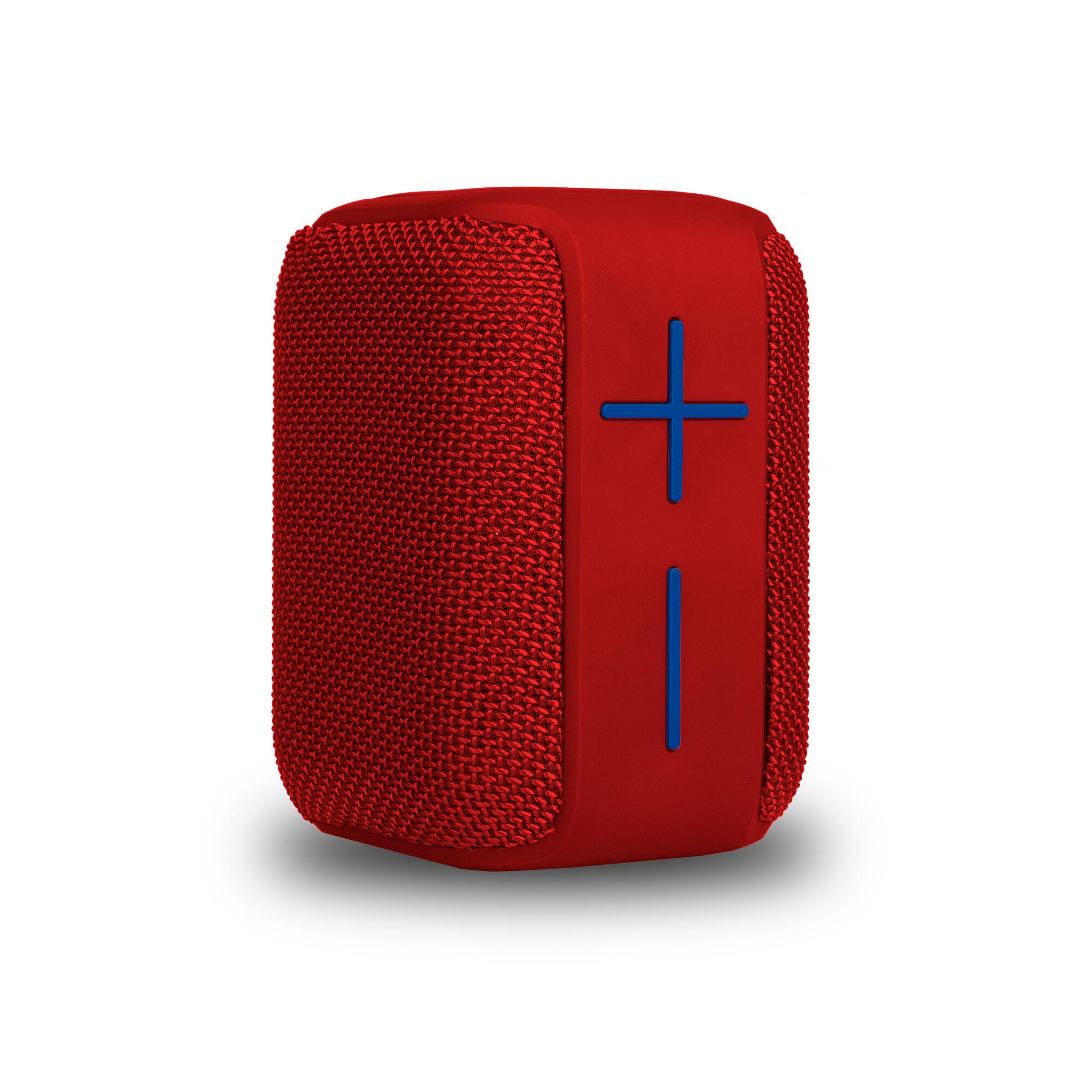 NGS 10W Wireless BT Speaker, Roller Coaster - Red