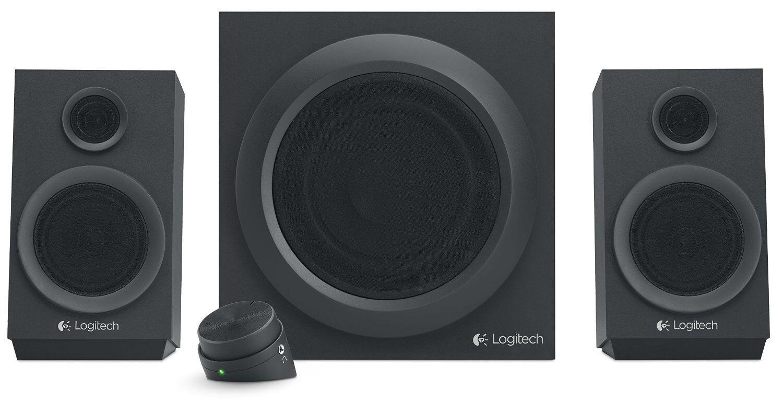 Logitech Z333 40 Watt Omnidirectional 2.1 Speaker Set - Black
