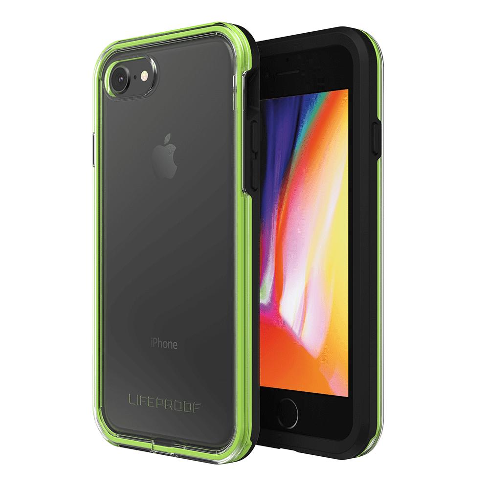 LifeProof Slam Apple iPhone 7, 8 Phone Case - Black,Green, Transparent
