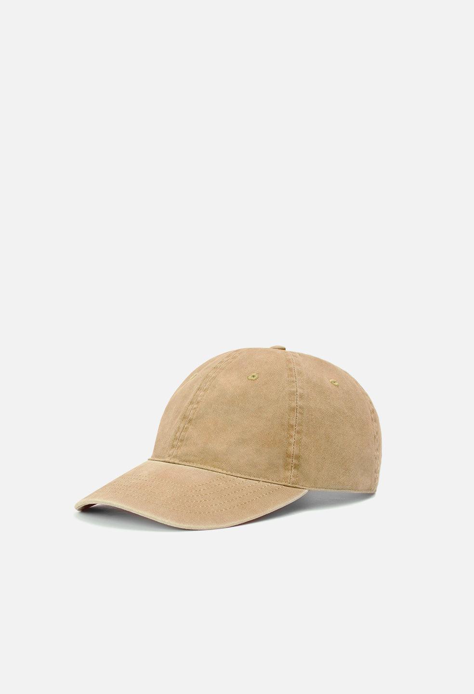 John Elliott Washed Canvas Hat / Brown