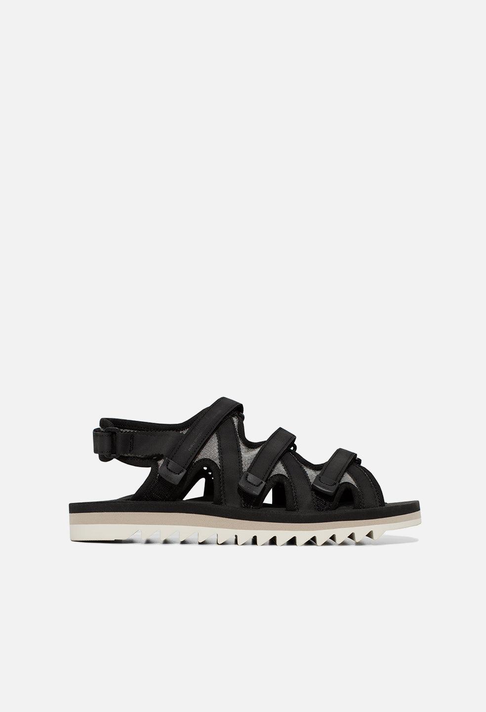 John Elliott JE X Suicoke Zip Sandal / Black (JE X Suicoke Zip Sandal / Black / US 6)