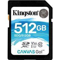 Kingston Technology 512GB Canvas Go! UHS-I SDXC Memory Card