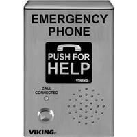 Viking E-1600-03B Emergency Phone with Dialer/Announcer