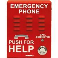 Viking E-1600A-EWP ADA Compliant Elevator Emergency Phone with Enhanced Weather Protection