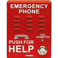 Viking E-1600A-EWP ADA Compliant Elevator Emergency Phone with Enhanced Weather Protection