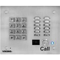 Viking K-1705-3-EWP Video Entry Phone with Keypad