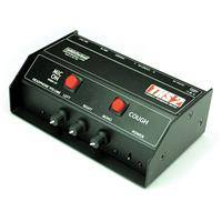 Whirlwind THS Sports Announcer Box with 2 Mic Control Buttons and Latching Mic Switch