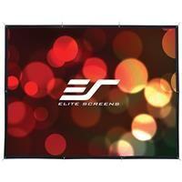 "Elite Screens DIY Pro Rear Series WraithVeil 148"" 4:3 4K Ultra HD Indoor/Outdoor Manual Projector Screen"
