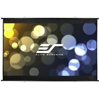 "Elite Screens DIY Wall 3 Series MaxWhite B 116"" 16:9 4K Ultra HD Indoor/Outdoor Wall Mount Manual Projector Screen"