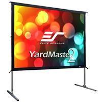 "Elite Screens Yard Master 2 Rear Series WraithVeil 120"" 4:3 4K Ultra HD Portable Outdoor Projector Screen"