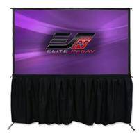 """Elite Screens Elite ProAV Yard Master Pro 2 180"""" Diagonal Indoor/Outdoor CineWhite Front and WraithVeil Rear Folding-Frame Projection Screen"""