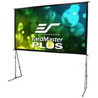 """Elite Screens Yard Master Plus 200"""" 16:9 8K 4K Ultra HD 3D Outdoor Screen with Stand"""