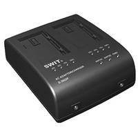 SWIT Electronics S-3602C 2-Channel Charger with DC Output for Canon BP-900 Series Batteries