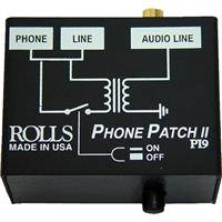 Rolls PI9 Phone Patch II Telephone Output Adapter with RJ11 to RCA/3.5mm Stereo Output